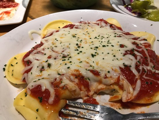 Cheese Ravioli Always A Good Choice Picture Of Olive Garden Albany Tripadvisor