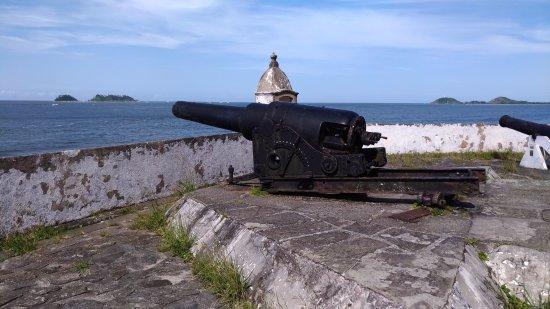 Fortress of Our Lady of Pleasures: Vista incrível da Ilha