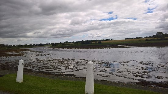 Kilcolgan, Ierland: View from the front of the Restaurant