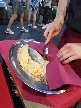 Hostaria De' Pastini Pizzeria : Fish