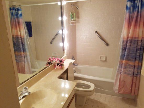 1800 Atlantic Suites: Second bathroom.