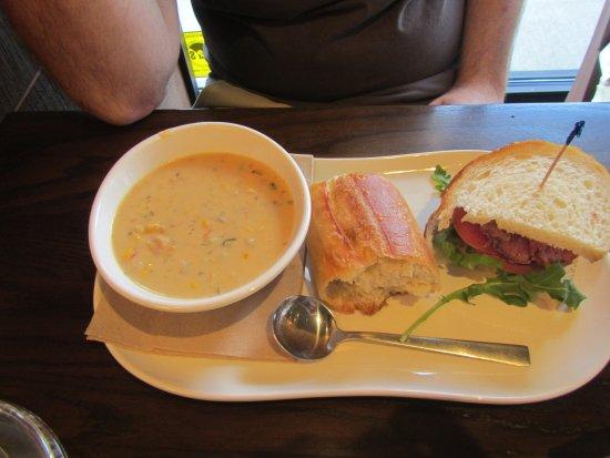 Lake City, FL: Soup and Sandwich #1