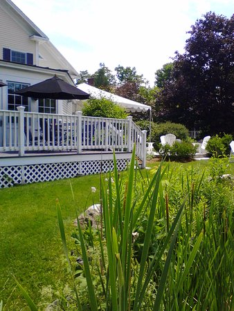 Manchester, VT: Deck and grounds...