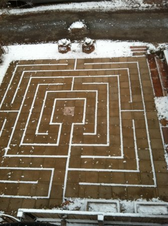 Best Kept Secret B & B: Our Labyrinth