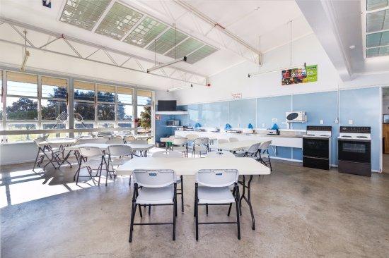 Turangi, New Zealand: Camp Kitchen