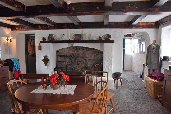 Cong, Irlande : The main room of the cottage museum