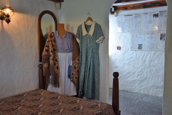 Cong, Irlande : The bedroom of the cottage