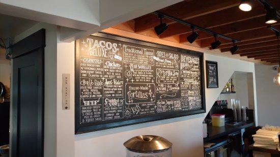 Freeland, WA: menu