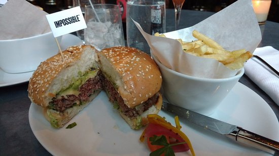 Jardiniere: The Impossible vegetarian burger