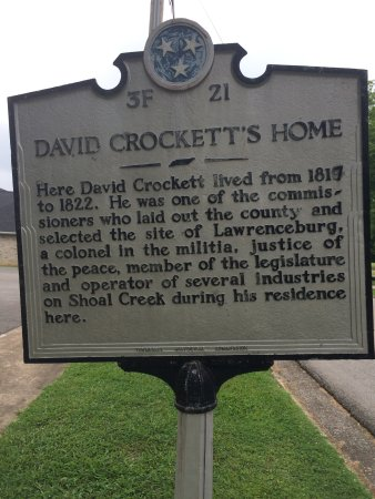 David Crockett State Park: In downtown Lawrenceburg.