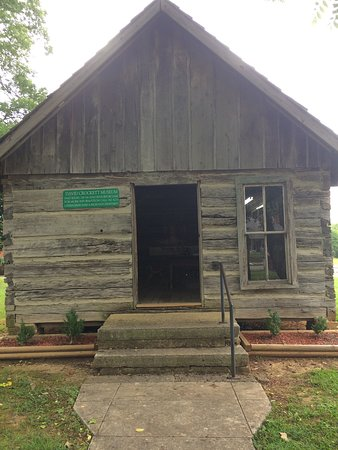 David Crockett State Park: David Crockett home.