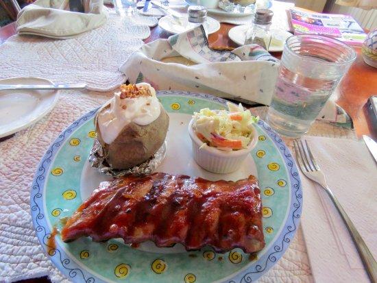 Delia, แคนาดา: Yummy ribs