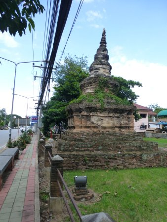 Chiang Saen, Tailândia: chedi luang minor stupa