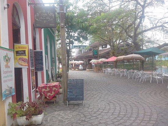 Cafe Bar Beira Rio: vista parcial externa