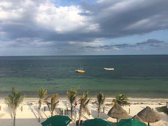 Hotel Hacienda Morelos: Views of and from the Hacienda Morelos, Puerto Morelos