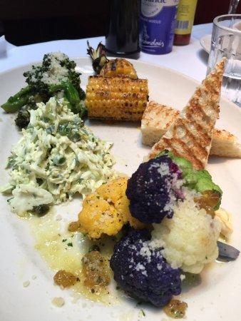Gulfstream: veggie plate