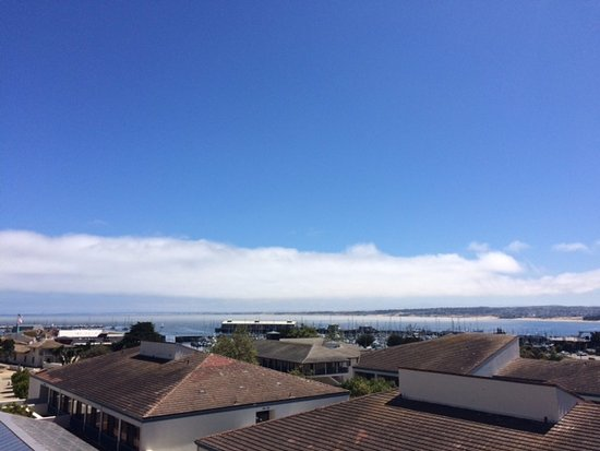 Portola Hotel & Spa at Monterey Bay: View from our balcony on 6th floor