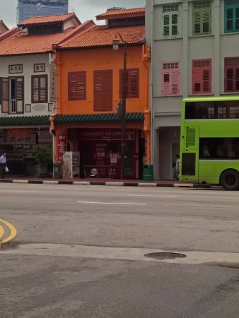 Backpackers Inn Chinatown: Ternyata ini tuh bagian belakang,jadi muter dulu ya