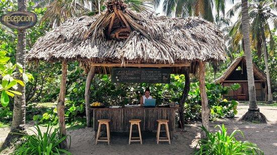 La Sirena Eco Hotel: RECEPTION
