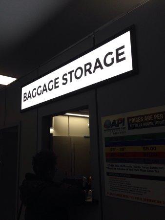 Baggage Storage ά έ ό έ