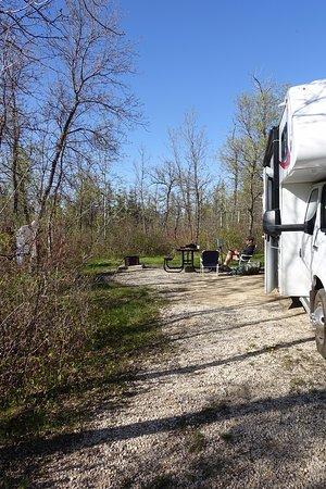 Manitoba, Canada: Our camp site