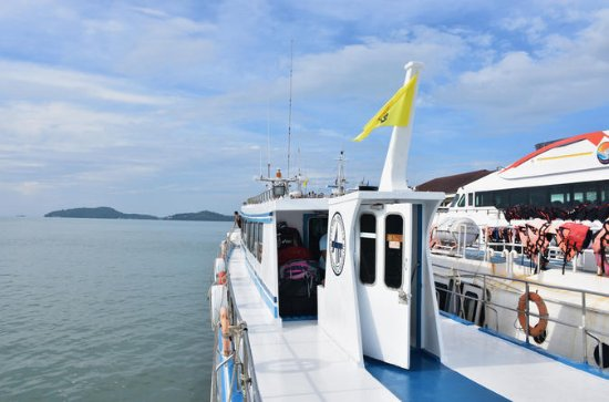 Phuket to Koh Phi Phi by Phi Phi ...