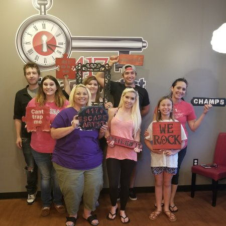 Best Escape Artists in the 417! - Picture of 417 Escape