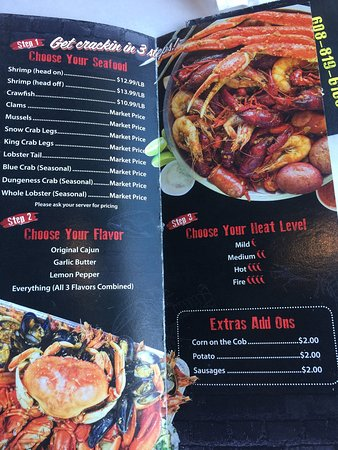 Great place! - Picture of Mad Boiling Crab, Madison