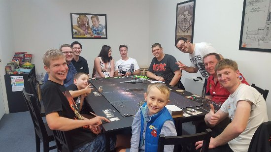 Nambour, Australia: A big team battle on one of our Star Wars X-Wing nights