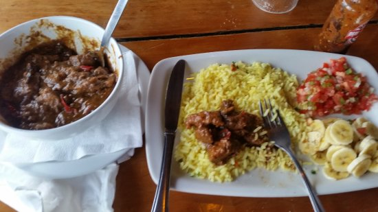 Ramsgate, Zuid-Afrika: a very yummy lunch