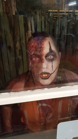 Spookers Haunted Attractions: In the window