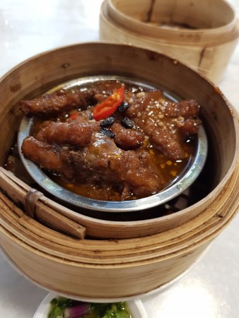 steamed chicken feet at Food Champs