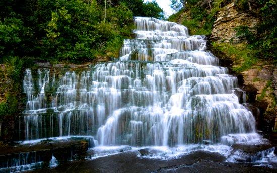 Hector Falls, Hector, NY: waterfall (more photos at: