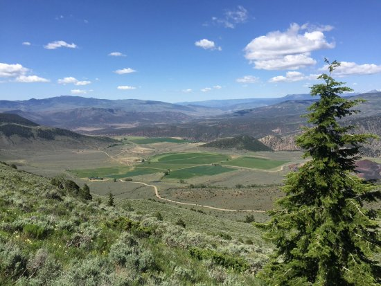 Mc Coy, CO: Gorgeous view from one of the many trail rides