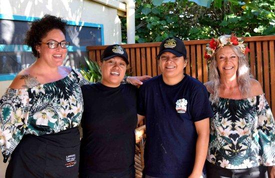 Tuoro Restaurant & Cafe: Meet Team Tuoro,Michelle & Remiah & Chef Nat & Poko