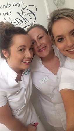 Sheer Bliss Beauty Day Spa: Some cheeky staff selfies