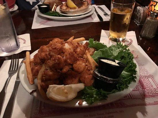 Quarterdeck Restaurant: scallops fritte buonissime