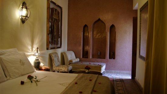 Riad Les Trois Palmiers El Bacha: Superior Double Alaouite