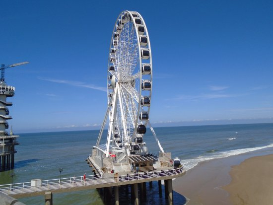 Scheveningen Beach Big Wheel Picture of RIB Actie Scheveningen
