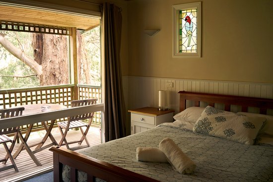 Yarra Valley, Australia: Bedroom with a view!