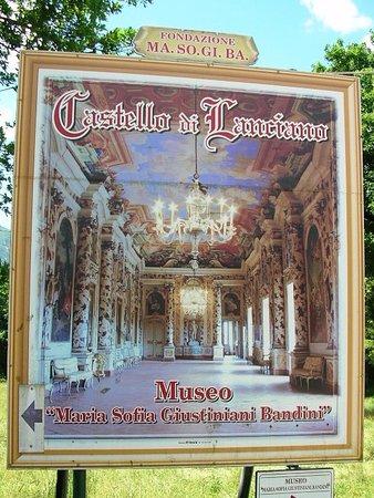 Castello di Lanciano: Insegna del museo