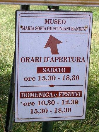 Castello di Lanciano: Orari museo