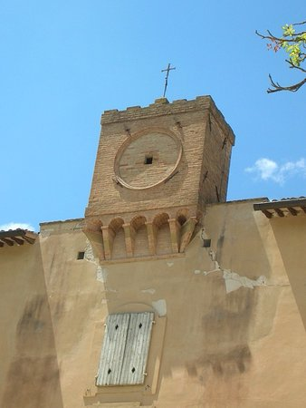 Castello di Lanciano: Torre dell'orologio (particolare)