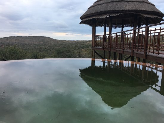 Thanda Safari : Devine heated plunge pool