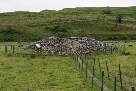 Kilmartin, UK: The Cairn