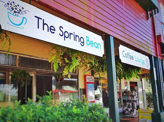The Spring Bean in Tolga, next door to the News Agents