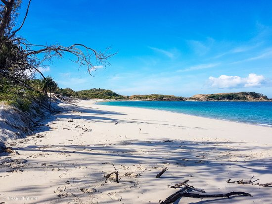 Great Keppel Island, Australien: No one else here at Monkey Beach!