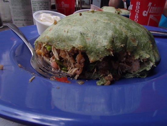 Jimmy's Dive Bar : Excellent burrito!