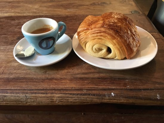 Espresso And Pastry Picture Of Jericho Coffee Traders