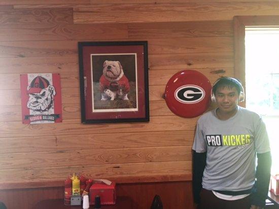 Go Dawgs - Picture of BBQ Barn, North Augusta - Tripadvisor